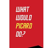 What would Picard do? Photographic Print