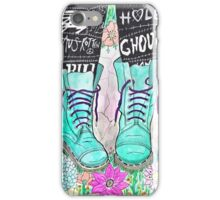 Punk Boots iPhone Case/Skin