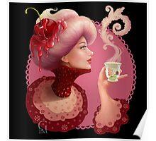 Tea and a Cupcake Poster