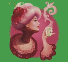 Tea and a Cupcake Kids Tee