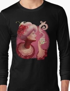 Tea and a Cupcake Long Sleeve T-Shirt