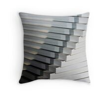 SECOND PILE OF BOOKS Throw Pillow