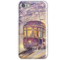 Old tram iPhone Case/Skin