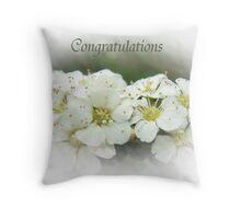 Flowers & romance Throw Pillow
