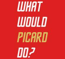 What would Picard do? T-shirt by martinn13