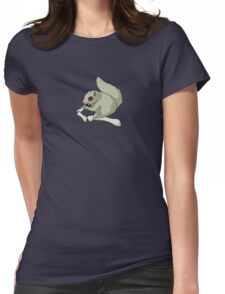 Death Squirrel Womens Fitted T-Shirt
