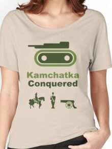 Risiko Kamchatka Green Women's Relaxed Fit T-Shirt