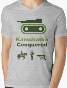 Risiko Kamchatka Green Mens V-Neck T-Shirt