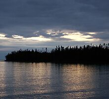 Lake Superior from the Grand Portage Lodge & Casino by TRStiles