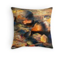 Ripples of Color Throw Pillow