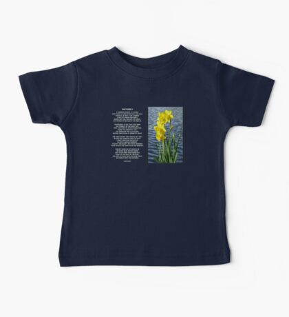 Wordsworth's Dances with the Daffodils Baby Tee