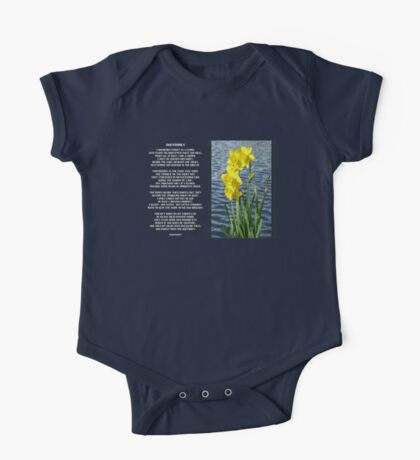 Wordsworth's Dances with the Daffodils One Piece - Short Sleeve