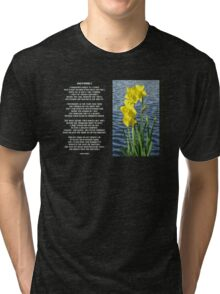 Wordsworth's Dances with the Daffodils Tri-blend T-Shirt