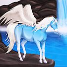 Mystical Waterfall by Palomino1234