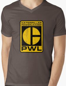Caterpillar Powerloader Mens V-Neck T-Shirt