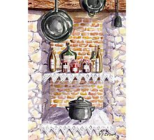 The Pickle Shelf in France Photographic Print