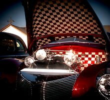 Checkerboard Merc' by Jim Butera
