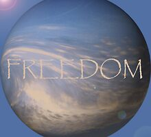 FREEDOM Sphere - BLUE by moonshinepdise