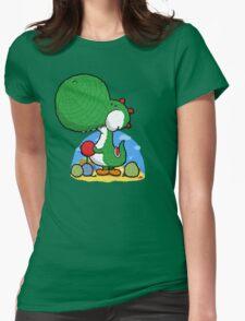 Wooly Egg Chucking Dinosaur T-Shirt
