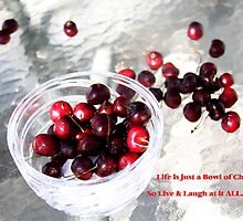 Life...a Bowl of Cherries by Mary Beal