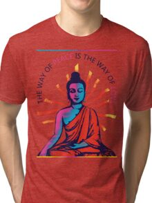 I want Love and Peace Tri-blend T-Shirt