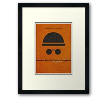 Leon The Professional Framed Print