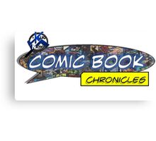 Comic Book Chronicles logo Canvas Print