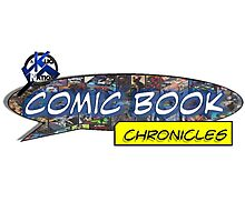 Comic Book Chronicles logo Photographic Print