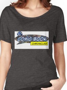 Comic Book Chronicles logo Women's Relaxed Fit T-Shirt