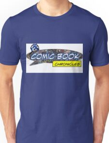 Comic Book Chronicles logo Unisex T-Shirt