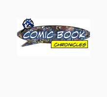 Comic Book Chronicles logo Men's Baseball ¾ T-Shirt