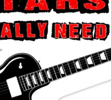 How Many Guitars... T Shirts, Stickers and Other Gifts Sticker