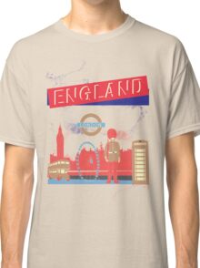London England UK Classic T-Shirt