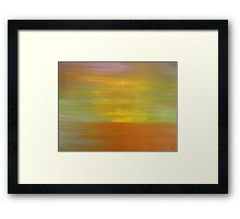 ABSTRACT 601 Framed Print