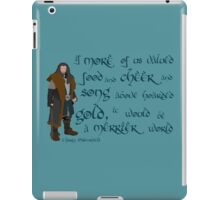 The Hobbit Merrier World iPad Case/Skin