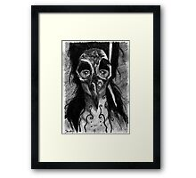 Weighted Freedom Framed Print