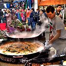 Cooking: Portabello Road, London by JLaverty