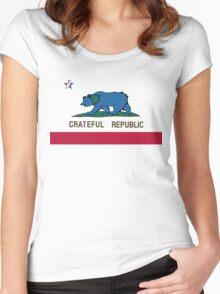 Grateful Republic Women's Fitted Scoop T-Shirt