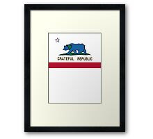 Grateful Republic Framed Print