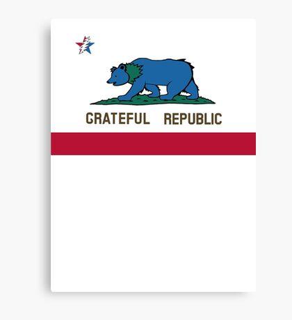 Grateful Republic Canvas Print