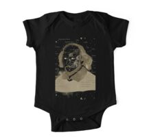 Vintage Portrait of William Shakespeares One Piece - Short Sleeve