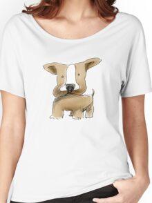 chubby doodledog Women's Relaxed Fit T-Shirt