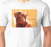 L is for Labrador T-Shirt