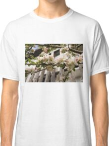 Facades and Fruit Trees - the Villa and the Apple Classic T-Shirt