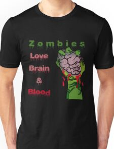 Halloween Night with Zombies Unisex T-Shirt