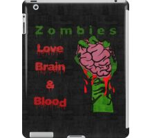 Halloween Night with Zombies iPad Case/Skin
