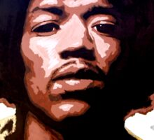 Hendrix Sticker