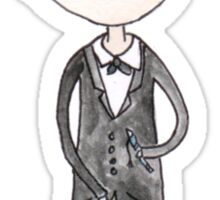 Doctor Who - Oh My Word Sticker