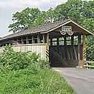 Claycomb Covered Bridge by Monnie Ryan