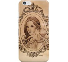 a lady and her paramour iPhone Case/Skin